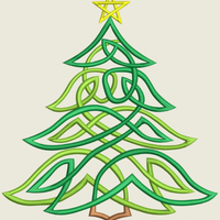 AGD 9382 Christmas Tree 7x12