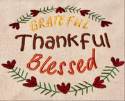 AGD  10638 Grateful Thankful Blessed