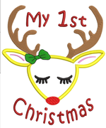 AGD 10636 1st Christmas Deer
