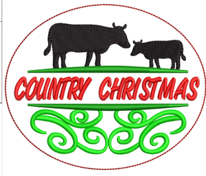 AGD 10676 Country Christmas