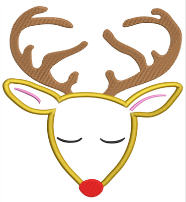 AGD 10060 Holiday Deer Male outline