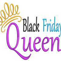 AGD 10076 Black Friday Queen