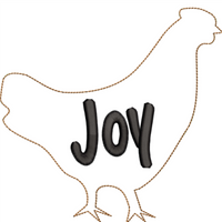 AGD 10088 Chicken ornament