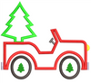 AGD 10096 Christmas Jeep