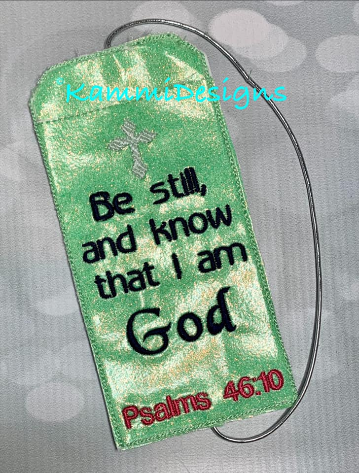 AGD 10192 Psalms 46:10 Pen holder/Bookmark