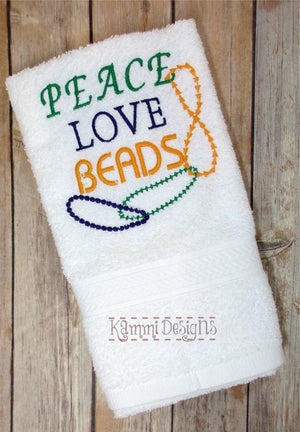 AGD 2456 Peace Love Beads