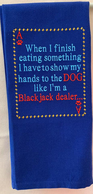 AGD 2600 Black Jack Dealer Dog