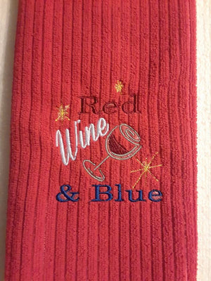 AGD 2770 Red Wine & Blue