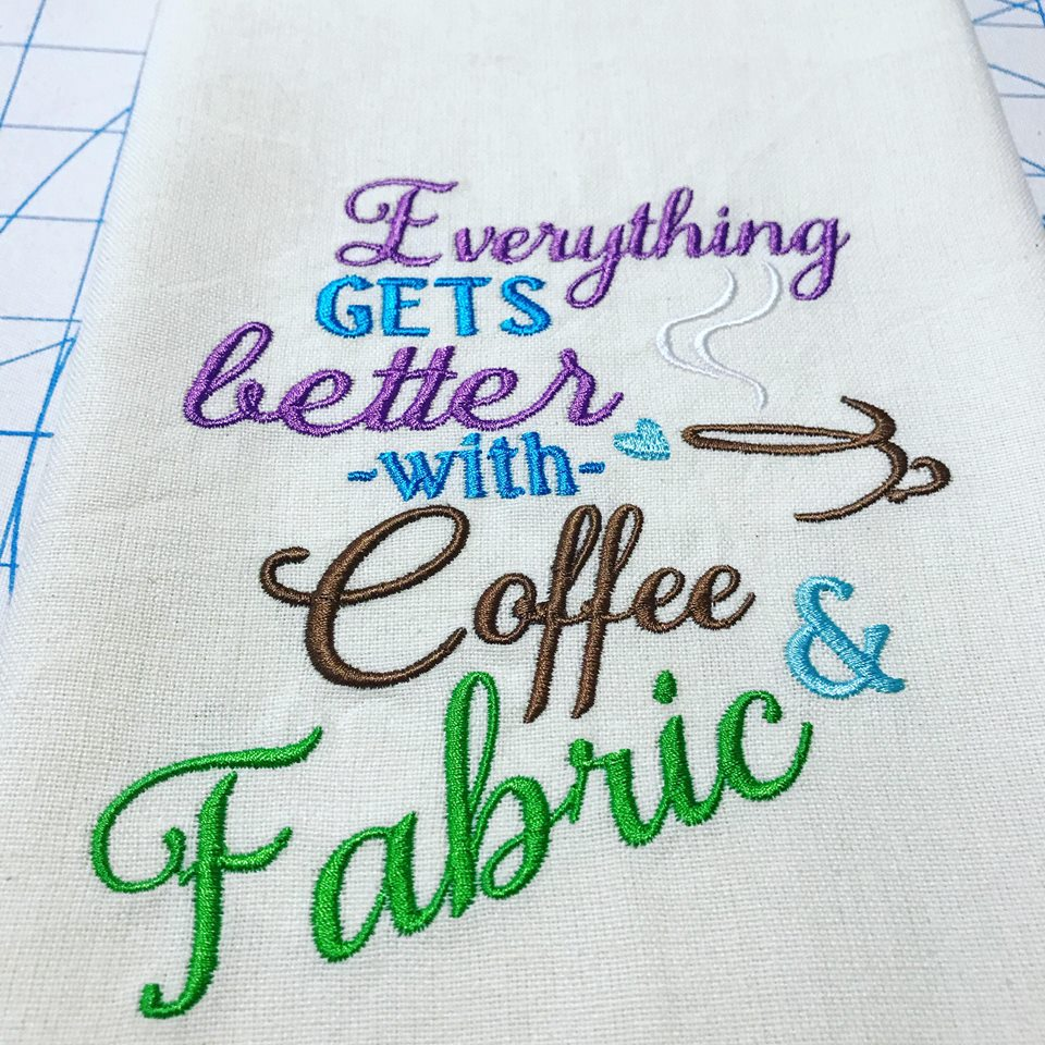 AGD 2812 Everything gets better - Fabric