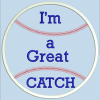 AGD 2872 I'm a Great CATCH