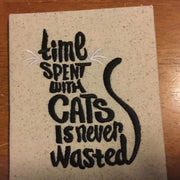 AGD 2906 Cat Word Art