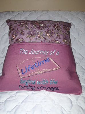 AGD 2926 Journey of a Lifetime - Book Pillow Design