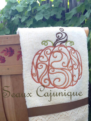 AGD 2958 Swirly Pumpkin