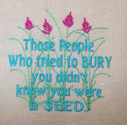 AGD 2972 You were a SEED