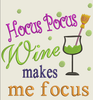 AGD 2992 Wine Makes Me Focus