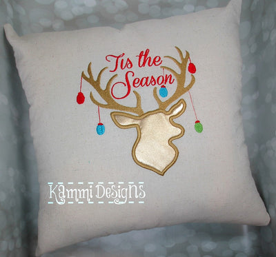 AGD 4030 Tis the Season Applique double file