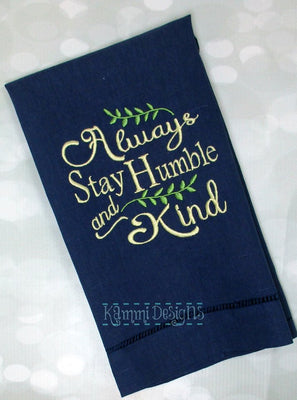 AGD 6004 Stay Humble and Kind