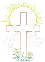 AGD 6046 Easter Cross
