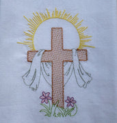 AGD 6054 Easter Cross Filled