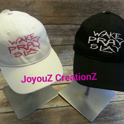 AGD 7028 Wake Pray Slay Hat File