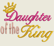 AGD 7044 Daughter of the King Hat File
