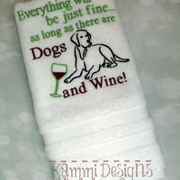 AGD 8044 Dogs & Wine