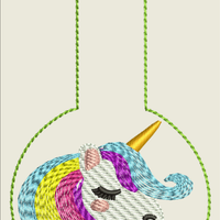 AGD 9138 Unicorn Snap Tab