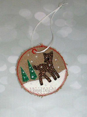 AGD 9176 Deer Ornament