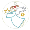 AGD 9320 Angel Ornament