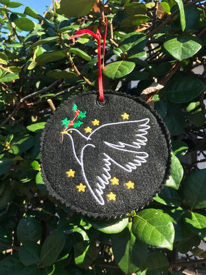 AGD 9356 Christmas Dove Ornament