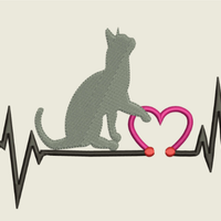 AGD 9474 Cat Heartbeat