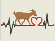 AGD 9536 Goat Heartbeat