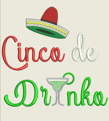 AGD 9878 Cinco de Drinko
