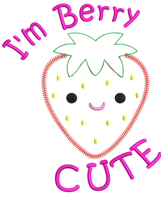 AGD 9920 I'm Berry Cute