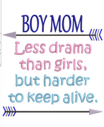 AGD 9942 Boy Mom