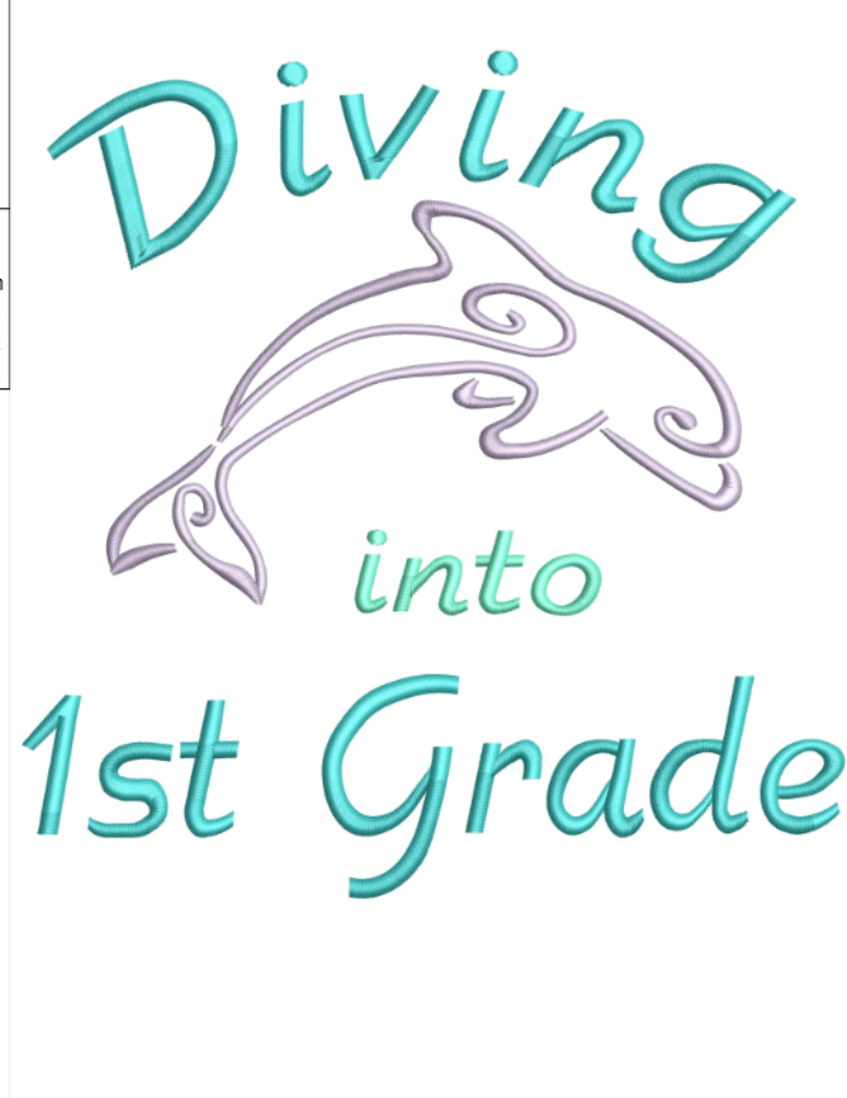 AGD 9970 Diving into 1st Grade