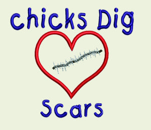 AGD 1750 Chicks Dig Scars