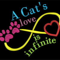 AGD 2322 Cat Love Words