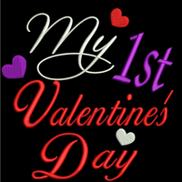 AGD 2442 My 1st Valentine's Day