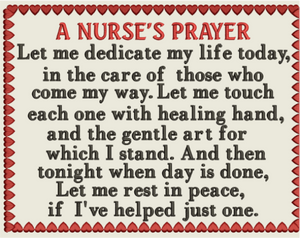 AGD 2596 Nurses Prayer 2