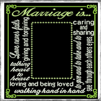 AGD 2730 Marriage Frame