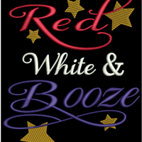 AGD 2744 Red White & Booze