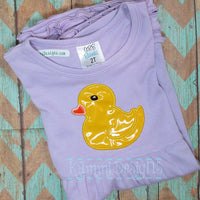 AGD 2078 Baby Duck Applique