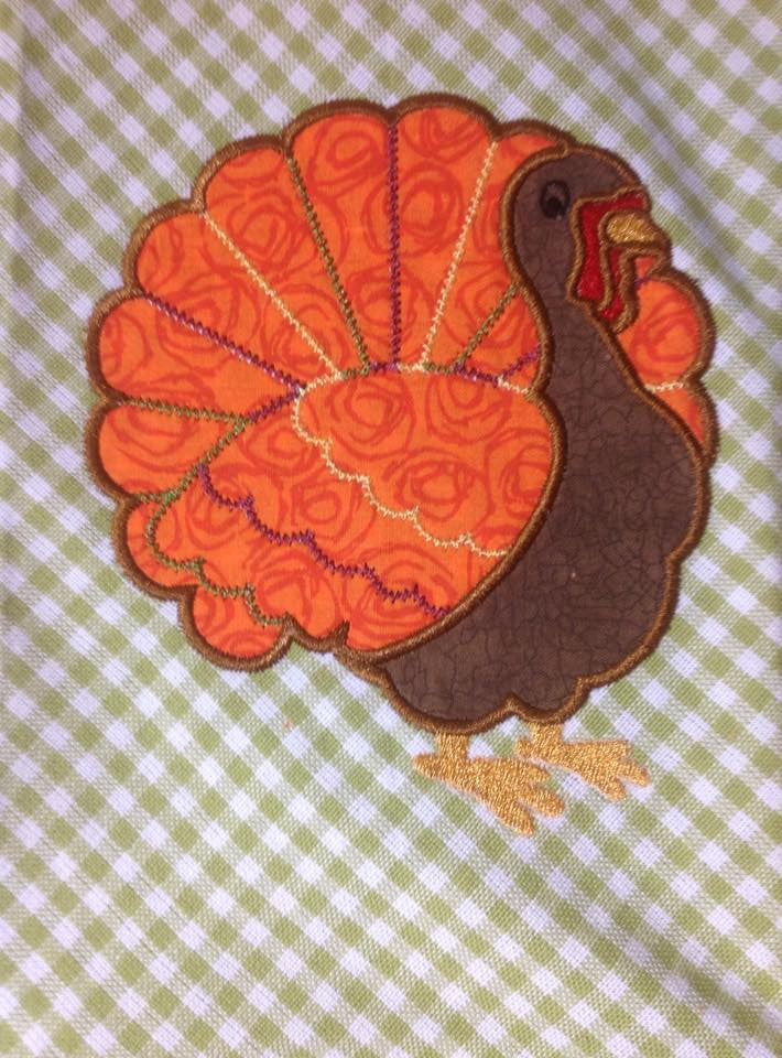 AGD 2180 Applique Turkey