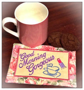 AGD 2124 Good Morning Mug Rug