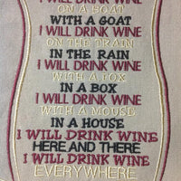 AGD 2014 I will drink wine
