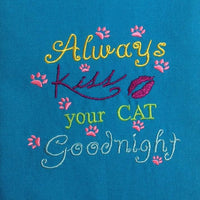 AGD 2364 Always Kiss your Cat Goodnight