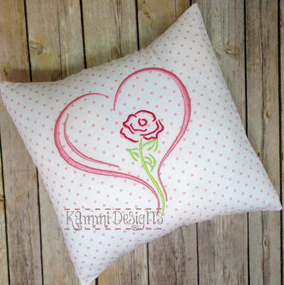 AGD 2128 Rose Heart