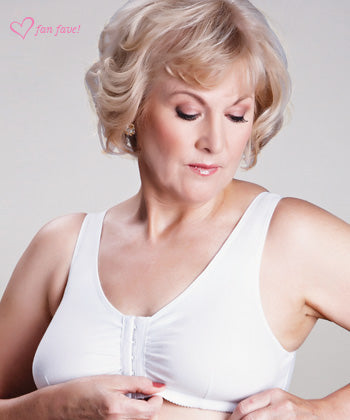 ABC® Leisure Bra - White