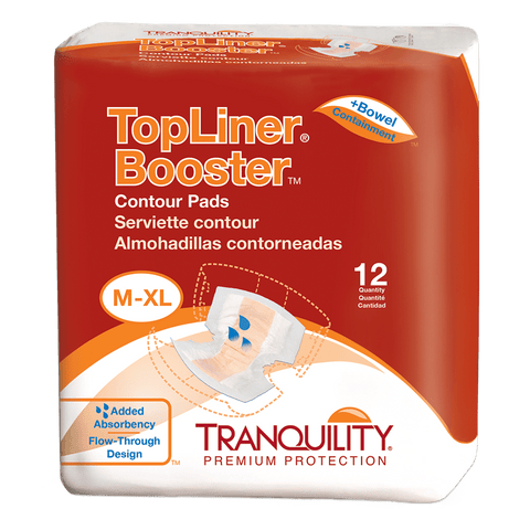 Tranquility® Topliner Booster Contour Pad